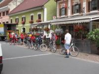 Radfahrer sind bei uns herzlich willkommen