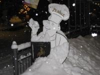 Der Penker im Winter